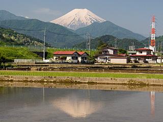 2012年5月29日の富士山写真
