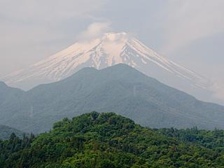 2012年6月15日の富士山写真