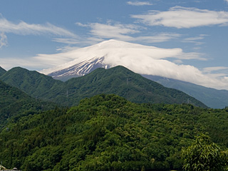 2012年6月20日の富士山写真