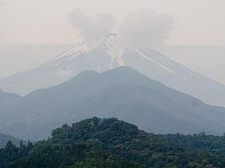 2012年6月28日の富士山写真