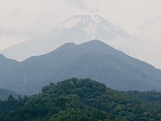 2012年7月3日の富士山写真