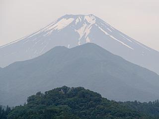 2012年7月5日の富士山写真