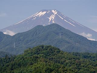 2012年7月11日の富士山写真