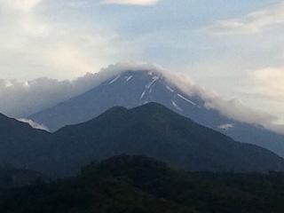 2012年7月15日の富士山写真