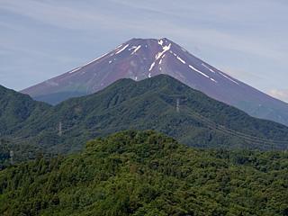 2012年7月16日の富士山写真