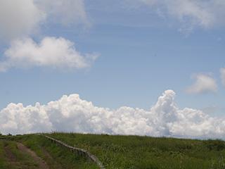2012年7月23日の富士山写真