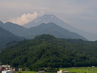 2012年7月25日の富士山写真