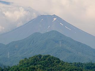 2012年7月26日の富士山写真