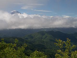 2012年8月1日の富士山写真