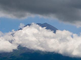 2012年8月2日の富士山写真