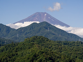 2012年8月5日の富士山写真