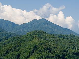 2012年8月7日の富士山写真