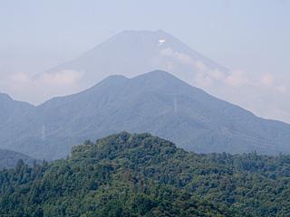 2012年8月10日の富士山写真