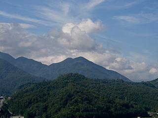 2012年8月12日の富士山写真