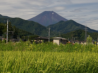 2012年8月16日の富士山写真