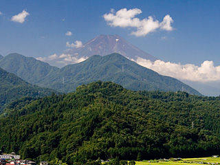 2012年8月20日の富士山写真