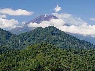2012年8月22日の富士山写真