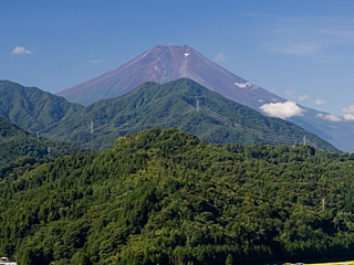 2012年8月24日の富士山写真