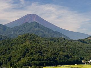 2012年8月25日の富士山写真