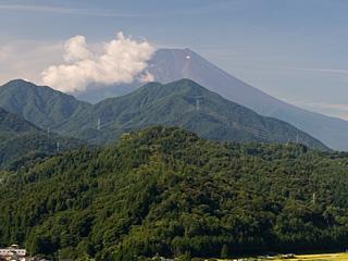 2012年9月5日の富士山写真
