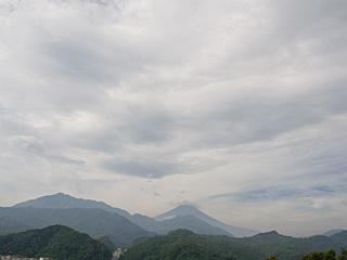 2012年9月6日の富士山写真