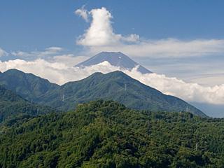 2012年9月11日の富士山写真