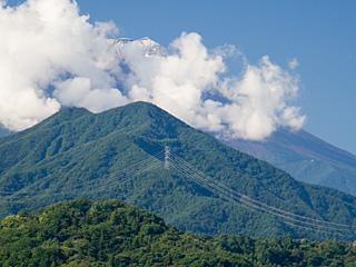 2012年9月12日の富士山写真
