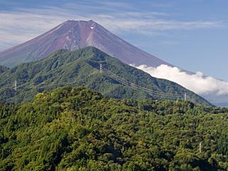 2012年9月16日の富士山写真