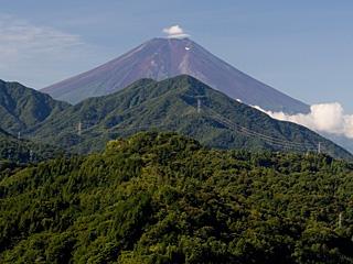 2012年9月20日の富士山写真