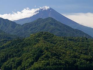 2012年9月24日の富士山写真