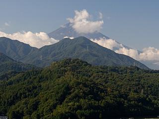 2012年10月5日の富士山写真