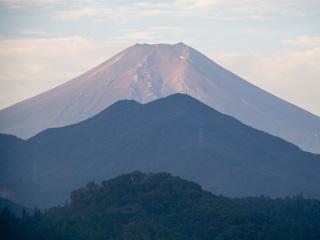 2012年10月6日の富士山写真