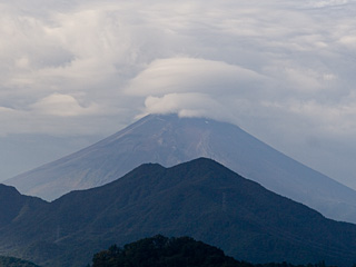 2012年10月11日の富士山写真