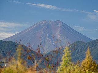 2012年10月13日の富士山写真