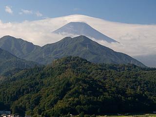 2012年10月17日の富士山写真