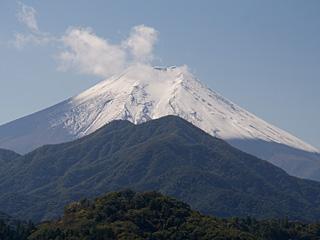 2012年10月19日の富士山写真