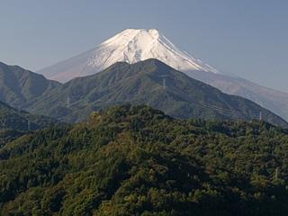 2012年10月21日の富士山写真