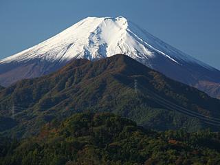 2012年11月4日の富士山写真