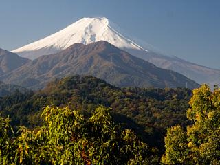 2012年11月7日の富士山写真