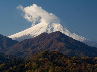 2012年11月14日の富士山写真