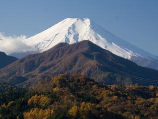 2012年11月18日の富士山写真