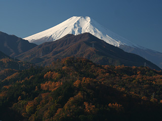 2012年11月20日の富士山写真