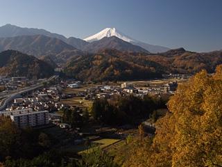 2012年11月25日の富士山写真