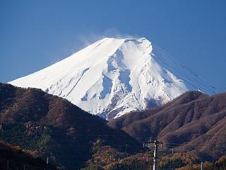 2012年11月27日の富士山写真