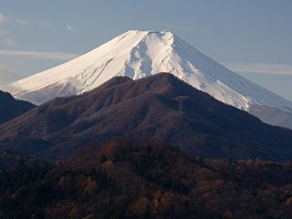 2012年12月月2日の富士山写真