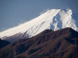 2012年12月5日の富士山写真