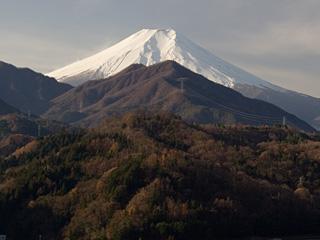 2012年12月7日の富士山写真