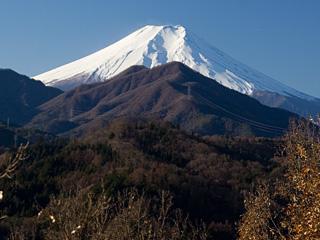 2012年12月11日の富士山写真