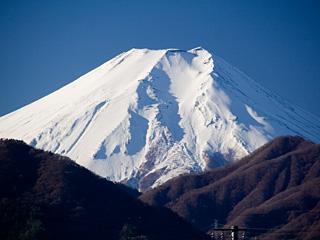 2012年12月12日の富士山写真