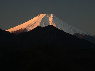 2012年12月13日の富士山写真